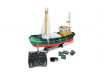 Carson 500108014 RC-Fischkutter Cux-13, 2,4 GHz, 100 % RTR