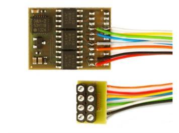 Doehler + Haass (123) DH21A-2 Fahrzeugdecoder 8pol. Schnittstelle