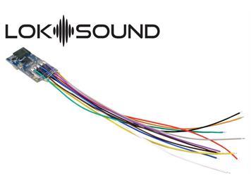 """ESU 58813 LokSound 5 micro an Litzen mit Lautspr. """"Leerdecoder"""" DCC/MM/SX/M4 für N/TT/HO"""