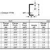 Evergreen 266 U-Profil, 350x4,8x1,6 mm - 3/16, 3 Stück | Bild 3