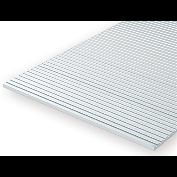 Evergreen 3047 Strukturplatte, 0,5x150x300 mm. Spur 0-Maßstab, 1 Stück