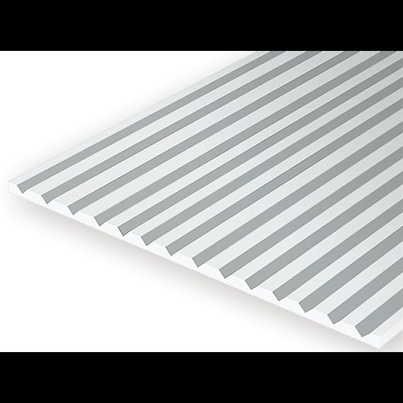 Evergreen 4060 Strukturplatte, 1x150x300 mm.Raster 1,50 mm, 1 Stück
