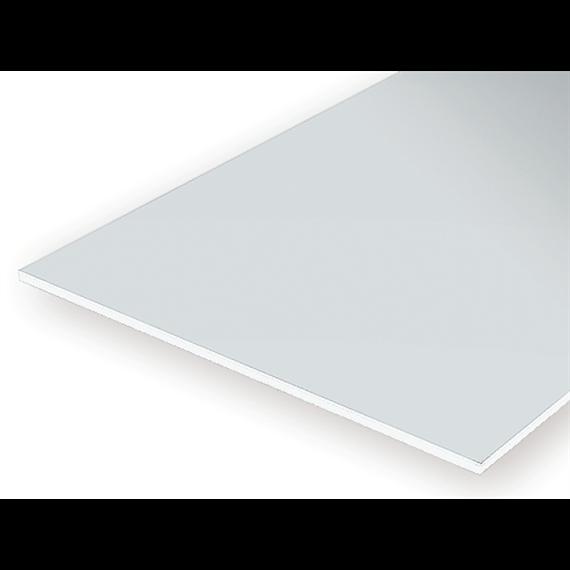 Evergreen 9516 Schwarze Polystyrolplatten, 150x300x1,50 mm, 1 Stück