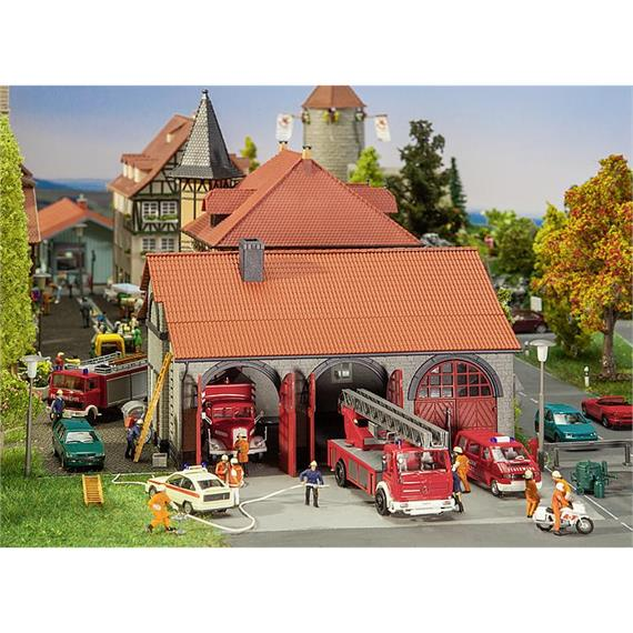 Faller 130162 Feuerwehrgerätehaus HO