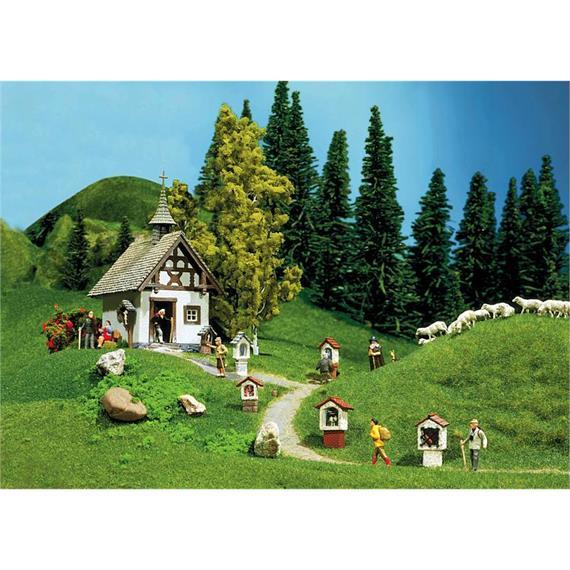 Faller 130235 Bergkapelle mit Wegkreuzen