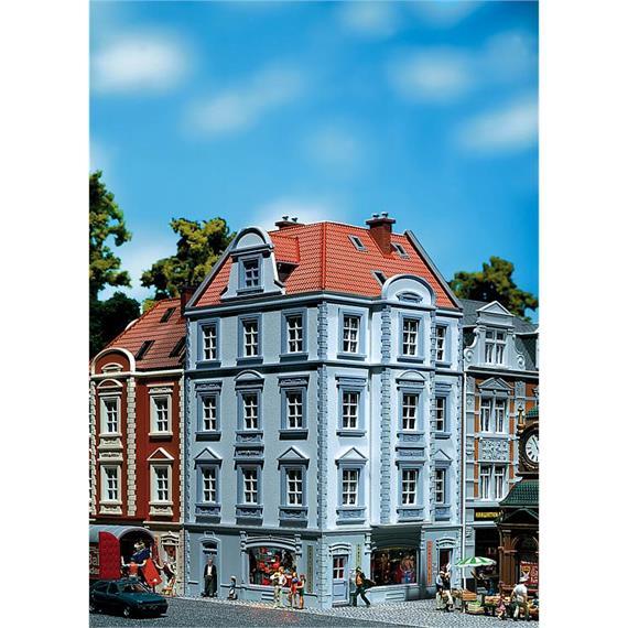 """Faller 130906 Eckhaus """"Goethestrasse"""" Spur H0"""