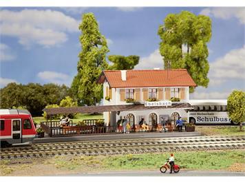 Faller 131544 Bahnhof Ebelsbach, H0 1:87