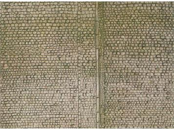 Faller 170601 Mauerplatte Pflaster