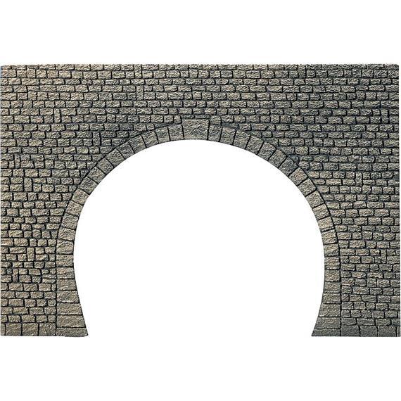 Faller 170831 Dekorplatte Tunnelportal 2-gleisig