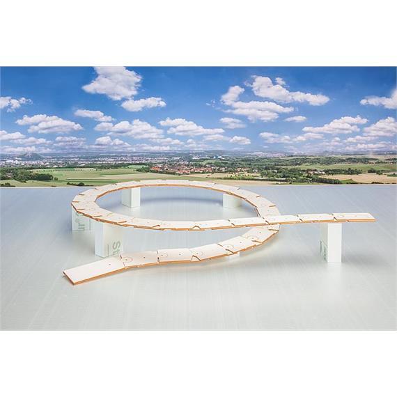 Faller 171827 Trassenbau Kehrviadukt Brusio, H0