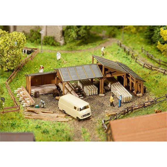 Faller 232373 Holzlagerschuppen N