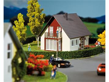 Faller RM Einfamilienhaus (weinrot) HO