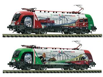 """Fleischman 731189 Elektrolokomotive Rh 1116 """"150 Jahre Brennerbahn"""" DCC/Sound"""