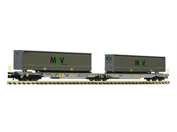 Fleischmann 825025 Doppeltaschen-Gelenkwagen, AAE, der Spedition MOVE, N