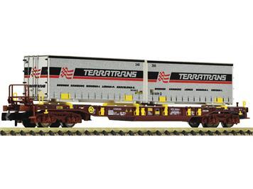 """Fleischmann 825056 Taschenwagen T3 """"AAE, Terratrans"""", N"""