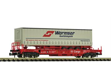 """Fleischmann 845346 Einheitstaschenwaggon """"Wormser"""", DB AG"""