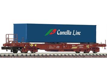 """Fleischmann 845368 Einheitstaschenwagen Bauart Sdgkkmss """"Camellia Line"""", RENFE"""