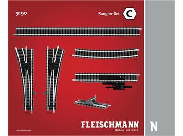 Fleischmann 9190 Rangierset C, Spur N