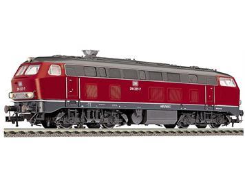 Fleischmann Diesellok BR 218 als Schienenreinigungslok einsetzbar