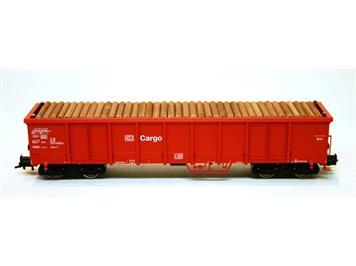 Fleischmann Hochbordwagen eanos mit Holzst. rot