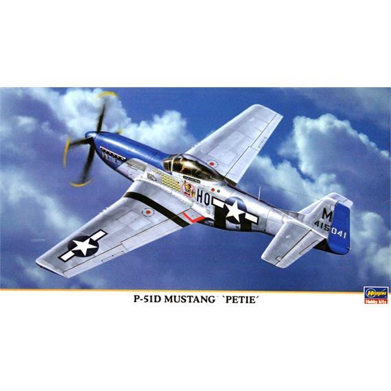 "Hasegawa P-51D Mustang ""Petie"""