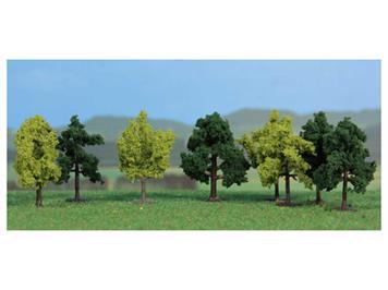 HEKI 1140 8 Laubbäume 4 cm