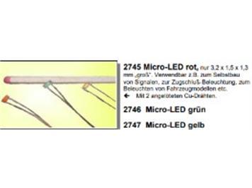 Herkat 2745 Micro-Leuchtdiode, rot