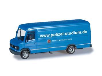 """Herpa 091411 Mercedes-Benz T2 Langkasten """"Polizei Niedersachsen"""" HO"""