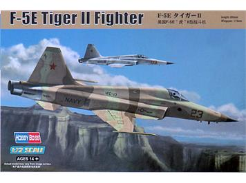 Hobby Boss 80207 F-5E Tiger II Fighter Decal Suisse Air Force 1:72