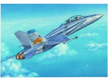 Hobby Boss 80322 F/A18D Hornet mit Swiss Air Force Decals 1:48