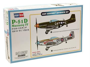 Hobby Boss 85802CH North American P-51D Swiss Mustang 1:48