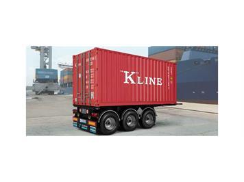 Italeri 3887 Tecnokar 20' Container Trailer 1:24