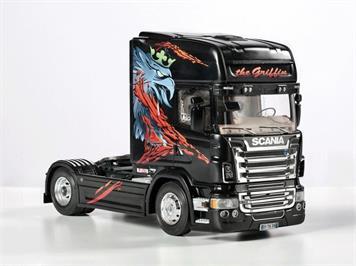 """Italeri Scania R730 """"The Griffin"""" 1:24"""