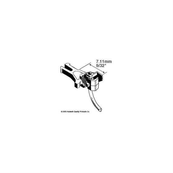 Kadee 402017 (380-17) Kupplung Nem 362 short 7.11 mm HO