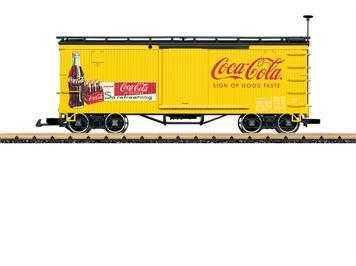 """LGB 40672 gedeckter Güterwagen """"Coca Cola"""""""