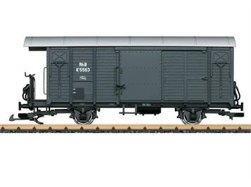 LGB 43814 RhB gedeckter Güterwagen der Bauart K 1, Spur G IIm (1:22,5)