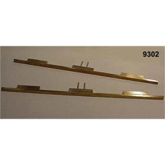 LUX 9302 Profilstäbe (2) für Radreinigungsanlage HO