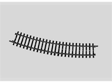Märklin 2232 Gleis gebogen Länge 3/4 = 22° 30'.