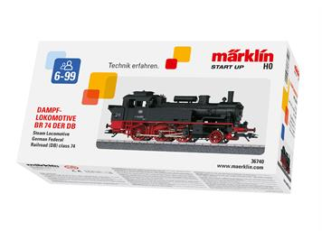 Märklin 36740 Start up - Tenderlokomotive Baureihe 74, H0