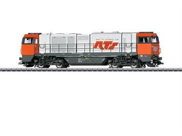 Märklin 37296 Diesellokomotive Vossloh G 2000 BB Hectorrail, mfx mit Sound, H0 (1:87)
