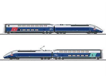 Märklin 37793 SNCF TGV Euroduplex Hochgeschwindigkeitszug, mfx+ mit Sound, H0 (1:87)