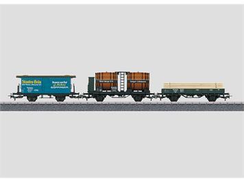 Märklin 44140 Güterwagen-Set (3) KWStE