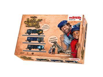 """Märklin 44817 Güterwagen-Set 3 """"Jim Knopf"""", H0"""