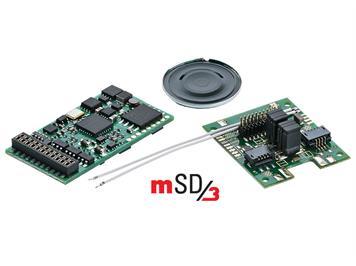 Märklin 60979 Sounddecoder mSD/3 für Start Up-Elektroloks