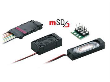 Märklin 60987 mSD/3 Elektrolok mit Kabelbaum
