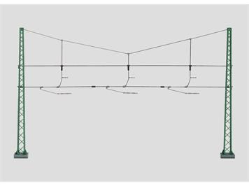 Märklin 74131 Quertragwerk für 3 Geleise