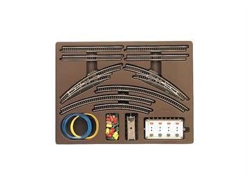Märklin 8192 Z-Gleis-Set Doppelgleispackung T1