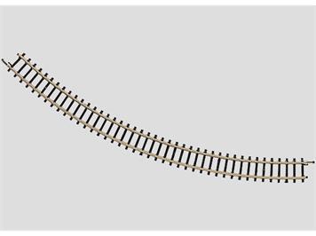 Märklin 8520 Spur Z gebogenes Gleis Radius 195 mm. 45°