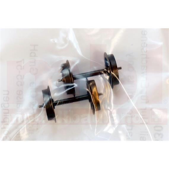 Märklin E700530 Hamo Radsatz mit Zapfenlager, Inhalt: 2 Stück, H0 (1:87)