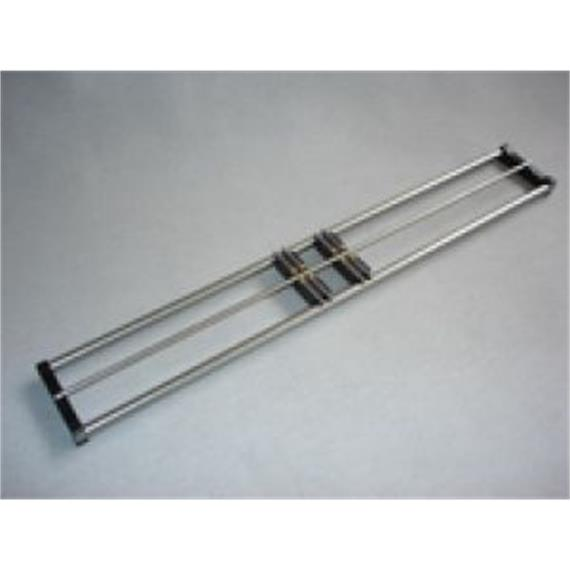 MAZERO 20 02 00 N-Rollenprüfstand Länge 330 mm, inkl. 3 Rollböcke N